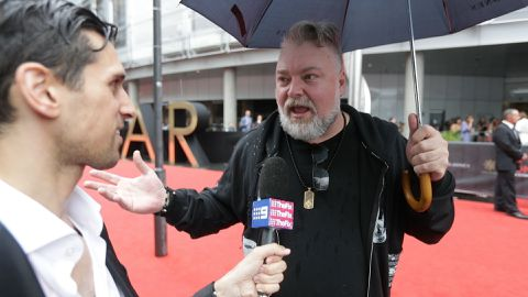 Kyle Sandilands talks politics at the ARIAs