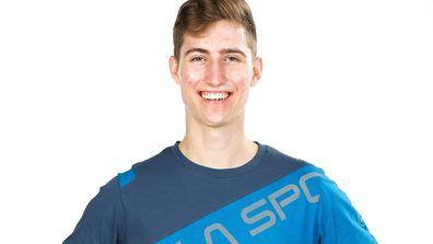 Bryson Klein competing on Australian Ninja Warrior 2020.
