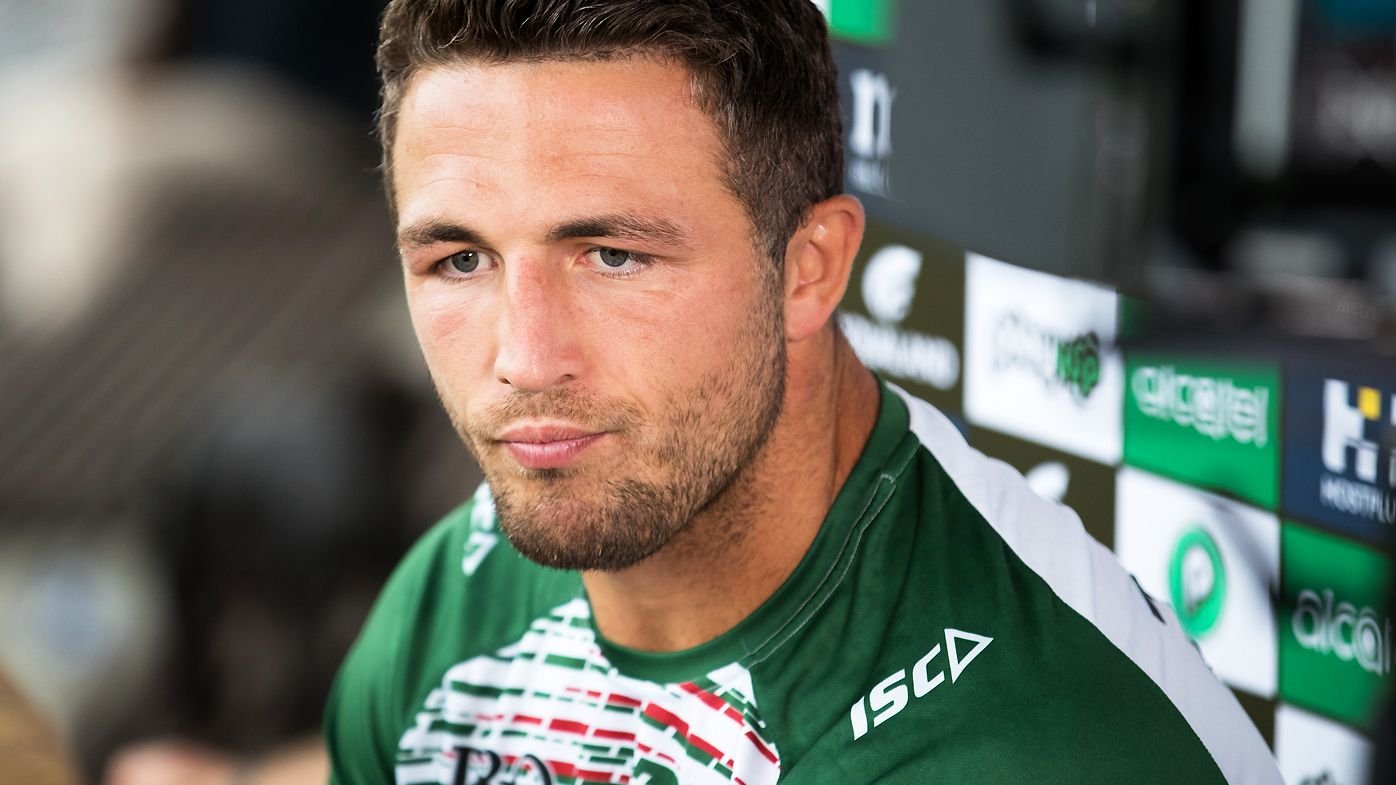 Sam Burgess, at Redfern Oval in 2019