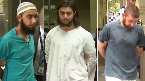 The announcement comes just days after three men faced a Melbourne court charged with crimes relating to the alleged planning of an ISIS-inspired attack.