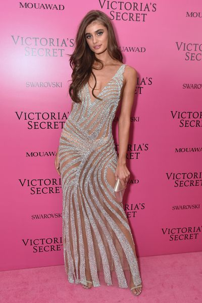 Taylor Hill in Fabiana Milazzo at the 2017 Victoria's Secret Fashion Show After Party