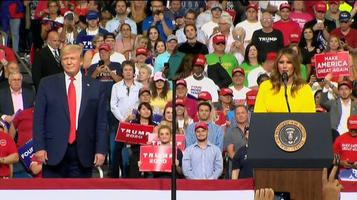 190619 Donald Trump 2020 US election campaign launch Orlando Florida news world USA