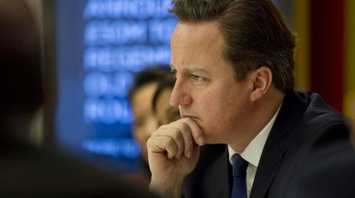 Exit poll predicts David Cameron's Conservatives ahead in surprise British election result