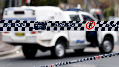 The man was taken to Bankstown Police Station and hit with a number of charges including driving when disqualified and resisting an officer in execution of duty.