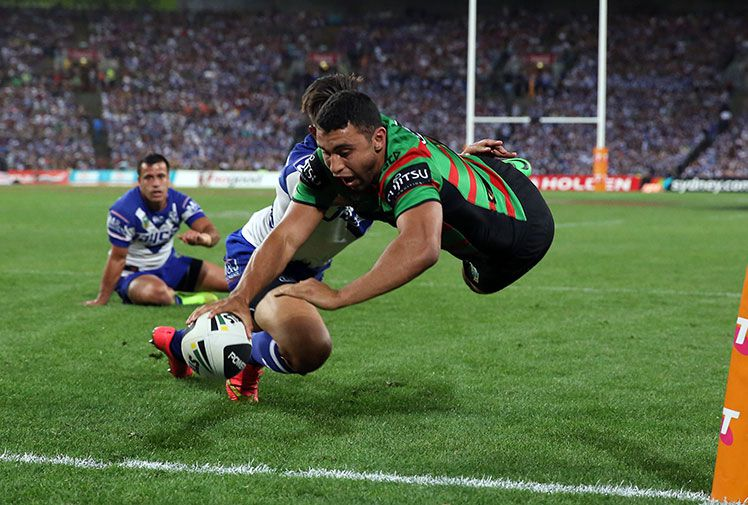 Hobbled South Sydney star Alex Johnston pushes forward return for NRL finals