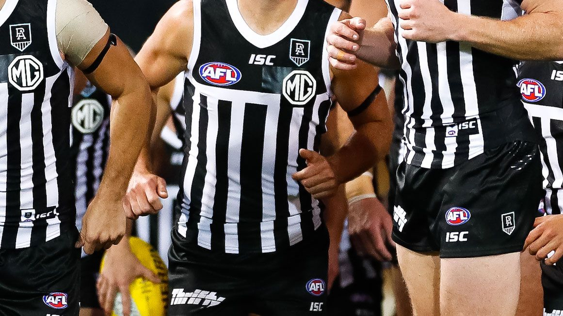 Port Adelaide refuses to rule out legal action over prison-bar guernsey saga