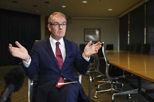 NSW Opposition Leader Michael Daley said he was human and the long election campaign had taken its toll just days out from polling booths opening. (AAP Image/Lukas Coch)