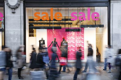 Consumers have been shopping up a storm ahead of Christmas.
