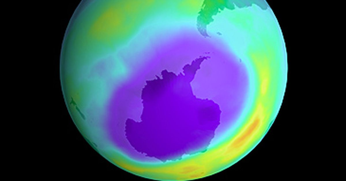 The hole in the ozone layer has now reached the largest it ...