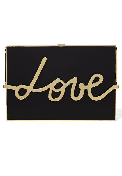 "<a href=""https://www.net-a-porter.com/au/en/product/651382/Lanvin/love-resin-and-gold-tone-box-clutch"" target=""_blank"">Clutch,$4425, Lanvin for net-a-porter.com</a>"