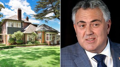 Joe Hockey's $8m mansion is up for sale