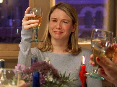 Scene from Bridget Jones' Diary