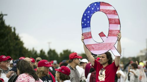 QAnon conspiracy theorists believe a 'deep state' is thwarting Donald Trump.