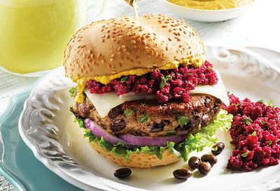 "<a href=""http://kitchen.nine.com.au/2016/05/05/12/46/black-bean-burgers-with-sriracha-chilli-aioli"" target=""_top"">Black bean burgers with sriracha chilli aioli<br> </a>"