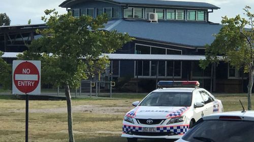 Police attended schools in the North Lakes area after a threat was posted online over the weekend. (Supplied)