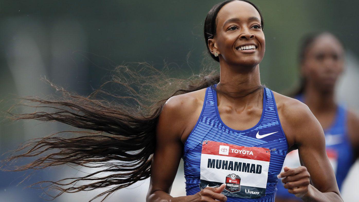 US star breaks 16-year-old 400m hurdles world record
