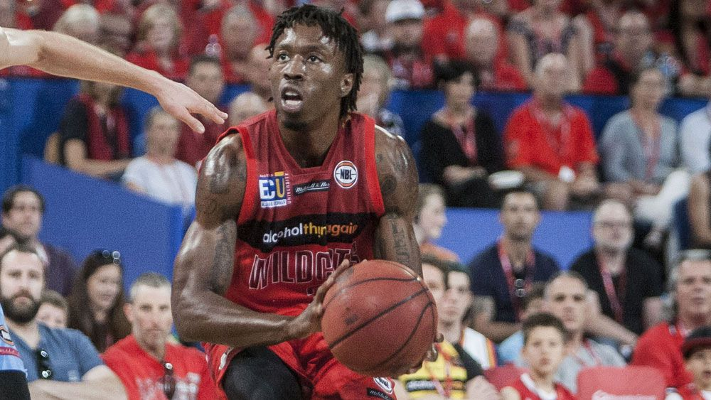 Jaron Johnson's future at the Wildcats is again under question. (AAP)