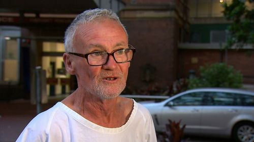 Witness Andrew Webster told 9News the hospital went into lockdown after the attack.