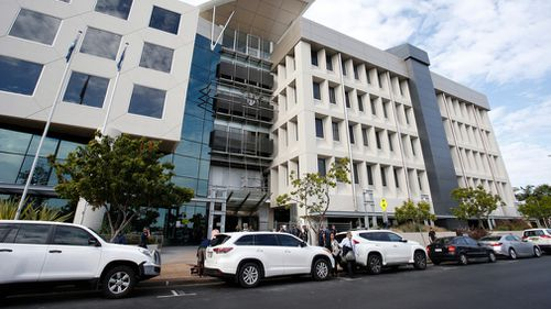 A general view of Southport Court House on the Gold Coast. (AAP)