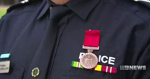 The medal is part of the Queens birthday recognition into bravery.