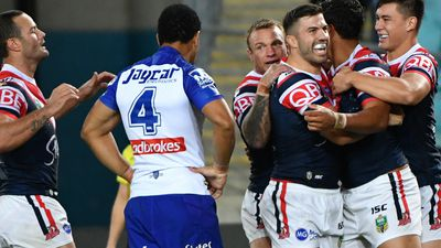 Roosters' impressive display shuts-out Bulldogs