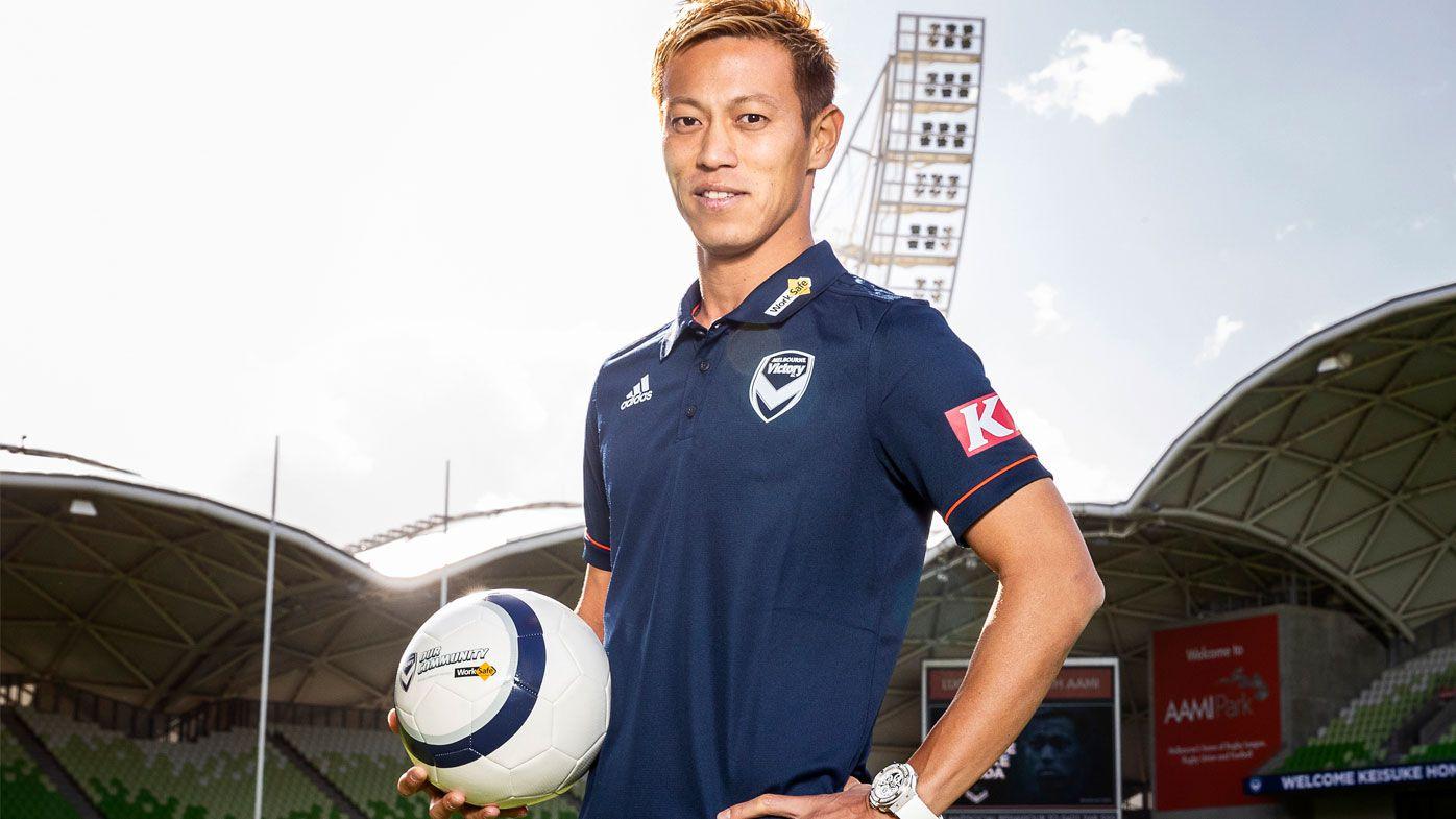 Melbourne Victory comes before Cambodia: Keisuke Honda