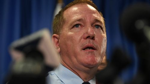 Incoming Police Commissioner Mick Fuller. (AAP)