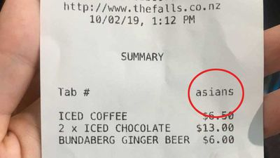 Restaurant apologizes for offensive receipt