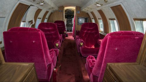 The plane was last sold just last year, after being privately owned for more than three decades. (AAP)
