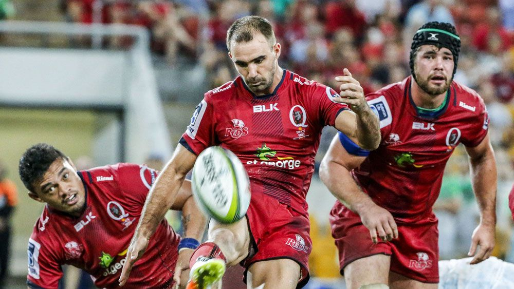 Reds beat Highlanders in rugby thriller