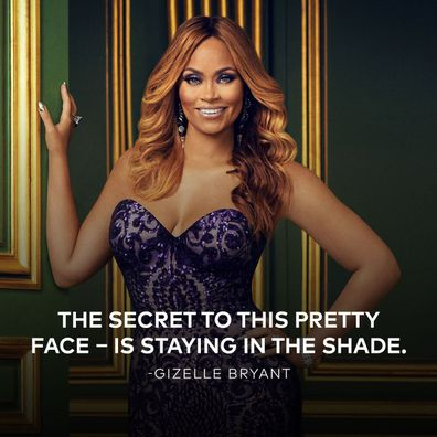 Real Housewives of Potomac star Gizelle Bryant.
