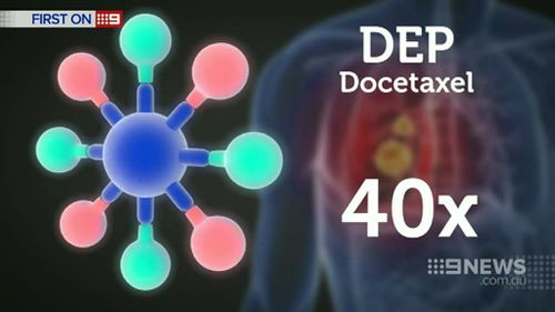 The new formula of Docetaxel is 40 times stronger than the previous version. (9NEWS)
