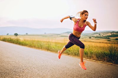 5 minutes of running at a superhuman pace