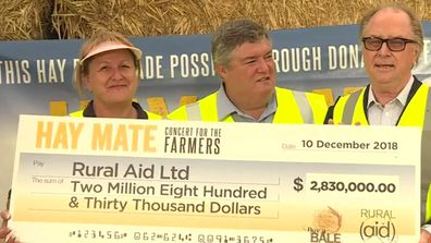 Hay Mate hands out over $2.8 million to Rural Aid to support farmers
