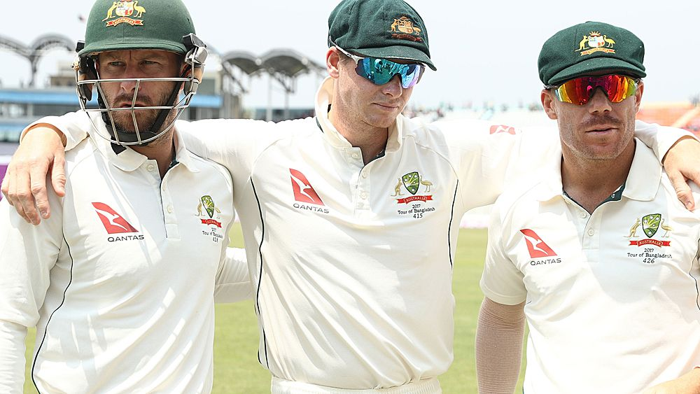 Relieved Aussies escape Test series defeat