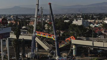 Death toll rises in Mexico City Metro overpass collapse