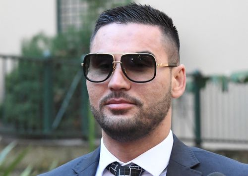 Salim Mehajer arrives at Central Local Court last week. Picture: AAP