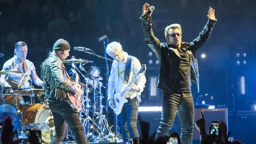 U2 has rescheduled its Paris shows which were delayed by the terrorist attacks launched against the city. (AAP)