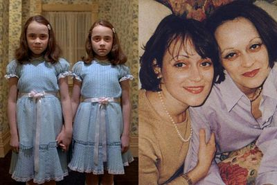 Lisa and Louise Burns: The twins from <i>The Shining</i> (1980)