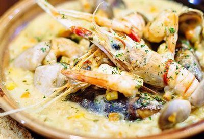 "Recipe:&nbsp;<a href=""/recipes/iseafood/8967532/pj-obriens-traditional-seafood-chowder"">PJ O'Brien's traditional seafood chowder</a>"