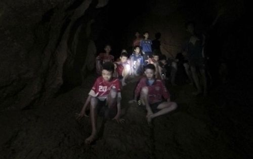 Heavy rains are approaching the Thailand caves where eight boys remain trapped