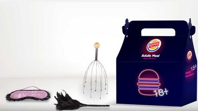 Burger King offers creepy Valentine's Day 'Adult' meal