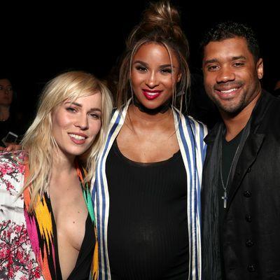 Natasha Bedingfield, Ciara and Russell Wilson