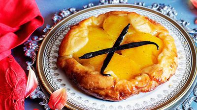 """<a href=""""http://kitchen.nine.com.au/2016/05/16/16/17/spiced-mango-tarte-tatin"""" target=""""_top"""">Spiced mango tarte tatin</a><br /> <br /> <a href=""""http://kitchen.nine.com.au/2016/11/18/13/49/sweet-pastry-eats-for-weeked-treats"""" target=""""_top"""">More sweet pastries</a>"""