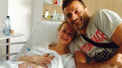 Siege hostage Marcia Mikhael is recovering in hospital. (9NEWS)
