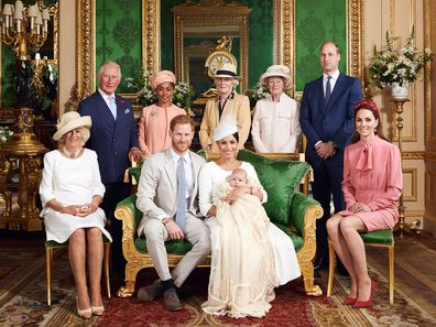 Archie Mountbatten-Windsor christening