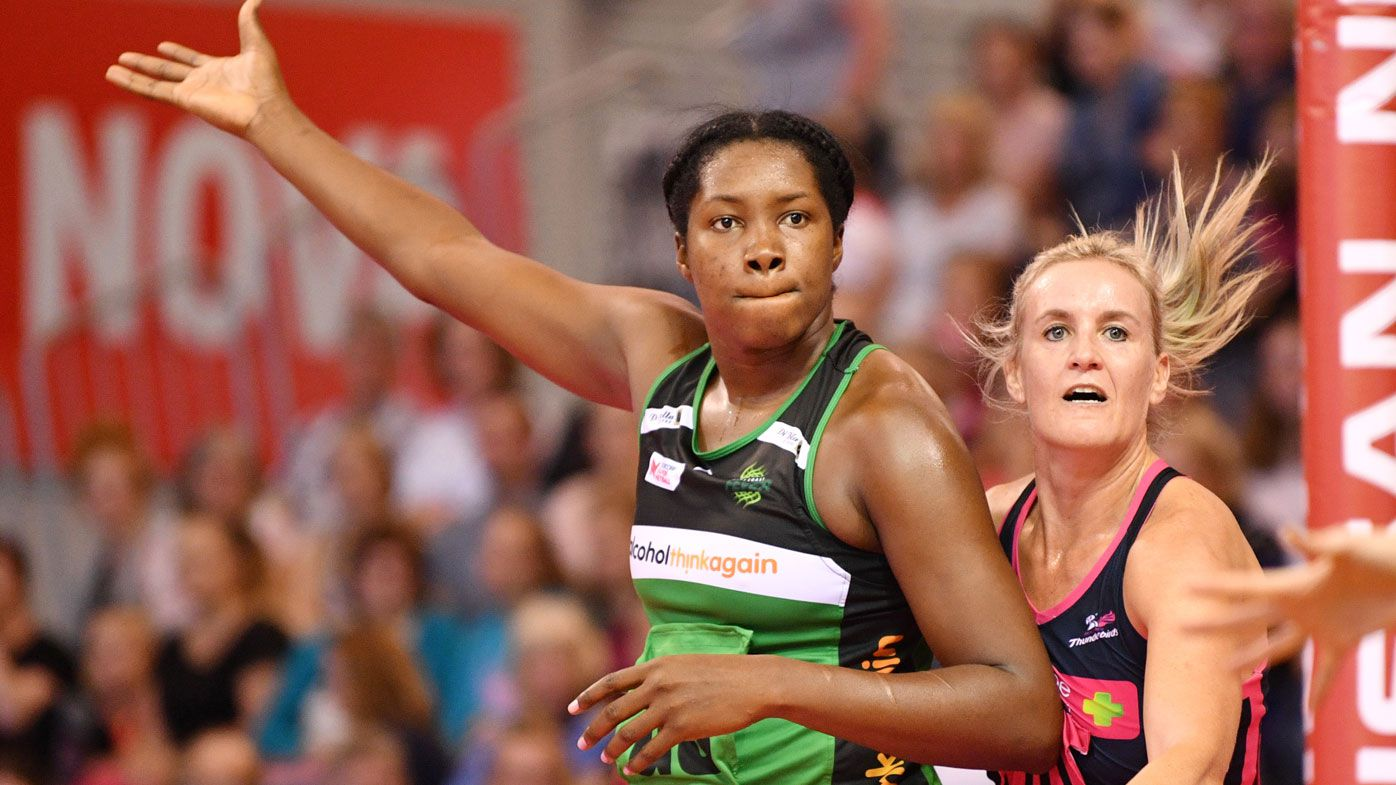 West Coast Fever's Jhaniele Fowler breaks Super Netball record on debut