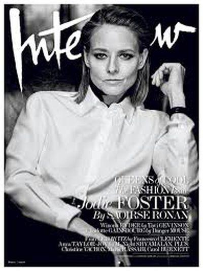 Jodie Foster, <em>Interview </em>Magazine March 2016