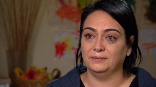 Nadia tells A Current Affair that her sons threatened to kill her for the family's honour. Picture: ACA