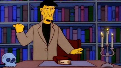 Nimoy was a regular guest star on The Simpsons, playing himself. (Supplied)